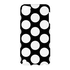 Black And White Polkadot Apple iPod Touch 5 Hardshell Case