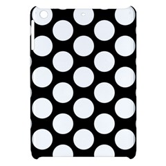 Black And White Polkadot Apple Ipad Mini Hardshell Case