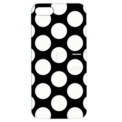 Black And White Polkadot Apple iPhone 5 Hardshell Case with Stand