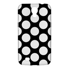 Black And White Polkadot Samsung Galaxy Mega 6.3  I9200 Hardshell Case