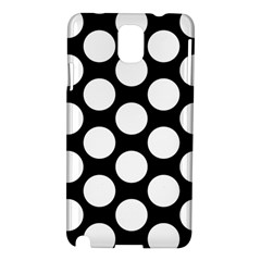 Black And White Polkadot Samsung Galaxy Note 3 N9005 Hardshell Case