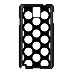 Black And White Polkadot Samsung Galaxy Note 3 N9005 Case (Black)