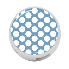 Blue Polkadot 4-Port USB Hub (One Side)