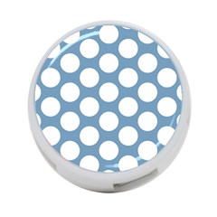 Blue Polkadot 4-Port USB Hub (Two Sides)