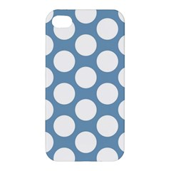 Blue Polkadot Apple Iphone 4/4s Hardshell Case