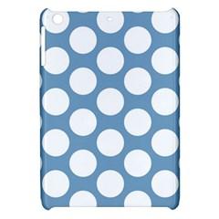 Blue Polkadot Apple iPad Mini Hardshell Case
