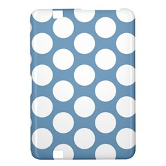 Blue Polkadot Kindle Fire Hd 8 9  Hardshell Case