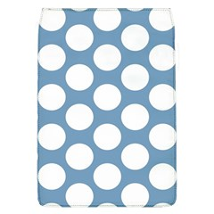 Blue Polkadot Removable Flap Cover (Large)