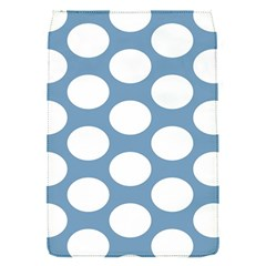 Blue Polkadot Removable Flap Cover (Small)