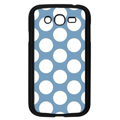Blue Polkadot Samsung Galaxy Grand DUOS I9082 Case (Black)
