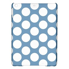 Blue Polkadot Apple iPad Air Hardshell Case
