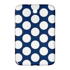 Dark Blue Polkadot Samsung Galaxy Note 8.0 N5100 Hardshell Case