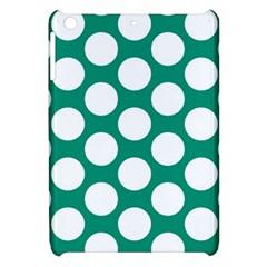 Emerald Green Polkadot Apple Ipad Mini Hardshell Case