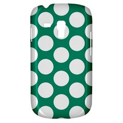Emerald Green Polkadot Samsung Galaxy S3 MINI I8190 Hardshell Case