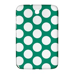 Emerald Green Polkadot Samsung Galaxy Note 8.0 N5100 Hardshell Case