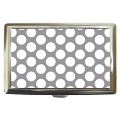 Grey Polkadot Cigarette Money Case