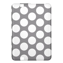 Grey Polkadot Kindle Fire Hd 8 9  Hardshell Case