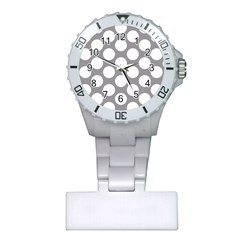 Grey Polkadot Nurses Watch