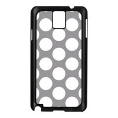 Grey Polkadot Samsung Galaxy Note 3 N9005 Case (Black)