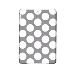 Grey Polkadot Apple iPad Mini 2 Hardshell Case