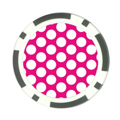Pink Polkadot Poker Chip