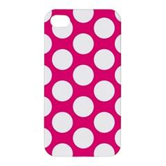 Pink Polkadot Apple Iphone 4/4s Hardshell Case