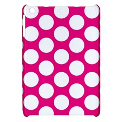 Pink Polkadot Apple Ipad Mini Hardshell Case