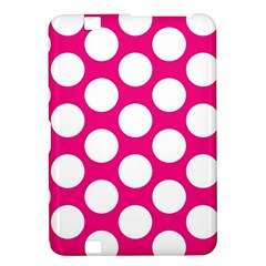 Pink Polkadot Kindle Fire HD 8.9  Hardshell Case
