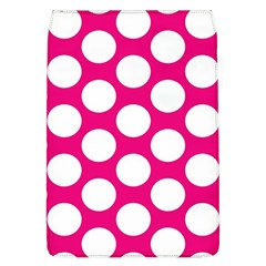 Pink Polkadot Removable Flap Cover (Large)