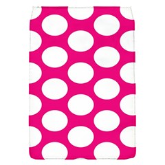 Pink Polkadot Removable Flap Cover (Small)