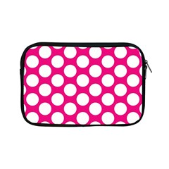 Pink Polkadot Apple Ipad Mini Zippered Sleeve