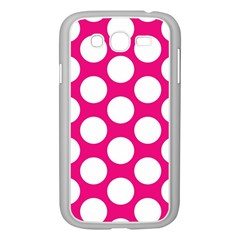 Pink Polkadot Samsung Galaxy Grand DUOS I9082 Case (White)