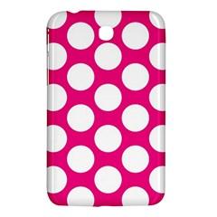 Pink Polkadot Samsung Galaxy Tab 3 (7 ) P3200 Hardshell Case
