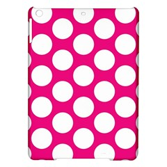 Pink Polkadot Apple iPad Air Hardshell Case
