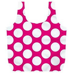 Pink Polkadot Reusable Bag (XL)