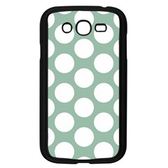 Jade Green Polkadot Samsung Galaxy Grand DUOS I9082 Case (Black)