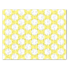 Yellow Polkadot Jigsaw Puzzle (Rectangle)