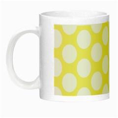 Yellow Polkadot Glow in the Dark Mug
