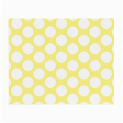 Yellow Polkadot Glasses Cloth (Small, Two Sided)