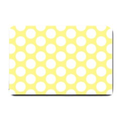 Yellow Polkadot Small Door Mat