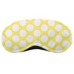 Yellow Polkadot Sleeping Mask