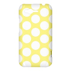 Yellow Polkadot HTC Rhyme Hardshell Case