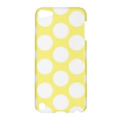 Yellow Polkadot Apple iPod Touch 5 Hardshell Case