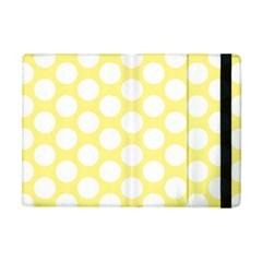 Yellow Polkadot Apple iPad Mini Flip Case