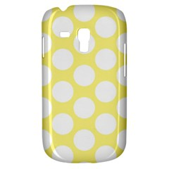 Yellow Polkadot Samsung Galaxy S3 Mini I8190 Hardshell Case