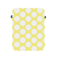 Yellow Polkadot Apple iPad Protective Sleeve