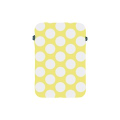 Yellow Polkadot Apple iPad Mini Protective Sleeve
