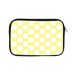 Yellow Polkadot Apple iPad Mini Zippered Sleeve