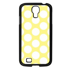 Yellow Polkadot Samsung Galaxy S4 I9500/ I9505 Case (Black)