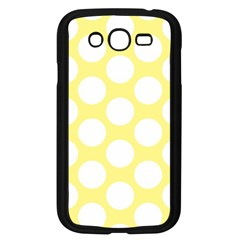Yellow Polkadot Samsung Galaxy Grand DUOS I9082 Case (Black)